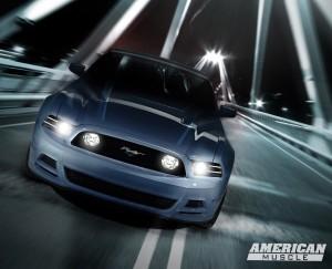 1024×768 Driven Mustang