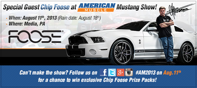 AmericanMuscle's 2013 Car Show With Chip Foose