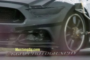 2015 Ford Mustang Zoomed Fornt End Image