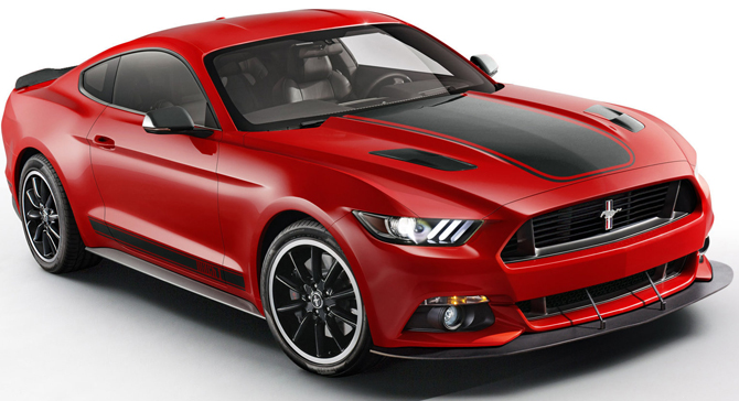 2015 Ford Mustang Mach 1 Rendering