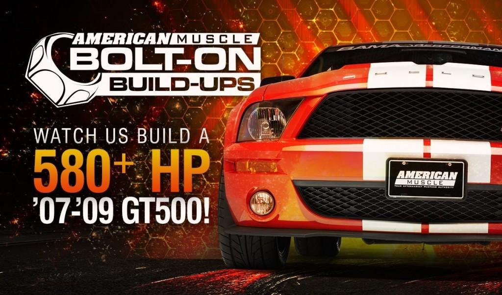 2008 GT500 Bolt-on Build-up
