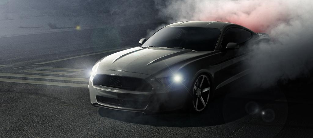 2015 Mustang Burnout