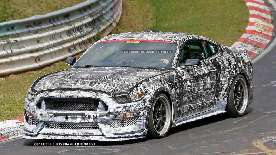 2016 GT350 Mustang Testing