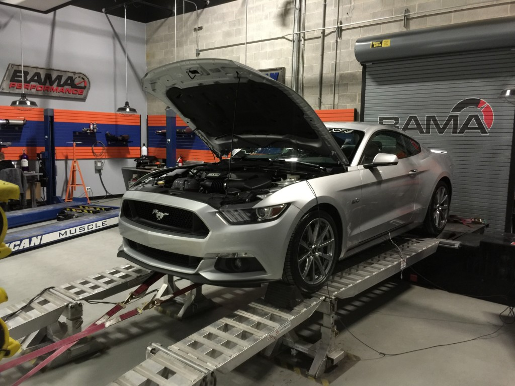 Automatic 2015 Mustang GT with a Bama V2 Tune