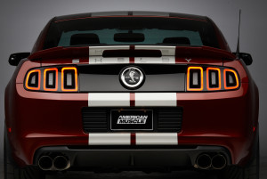 2014 Shelby GT500 Rear Shot