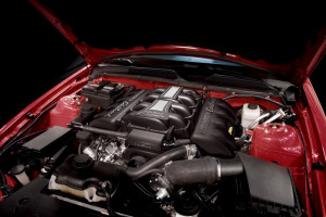 Supercharged S197 Mustang Engine Bay