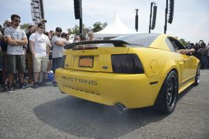 New Edge Mustang Revving