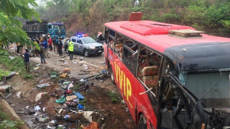 696 Ghanaians died through road accidents in the first quarter of 2019 - MTTD reports.