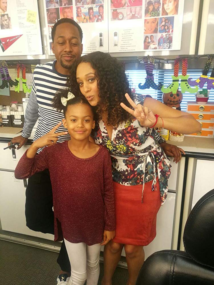"Mandeiya played daughter to Tia Mowry-Hardrict and Jaleel White on ""Me, Myself and I"""