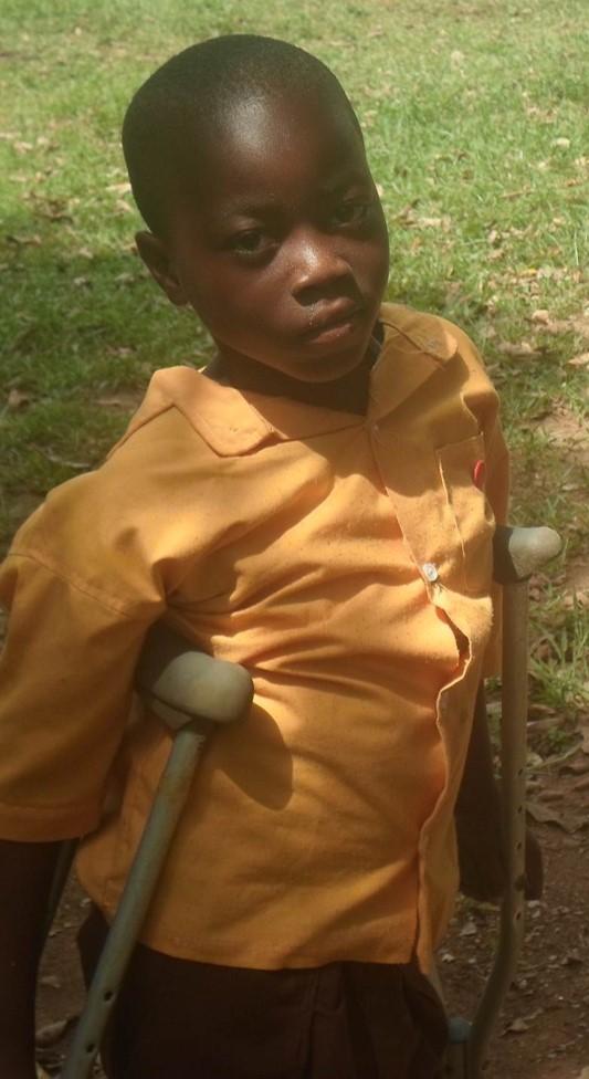 Isaac Asare, a beneficiary