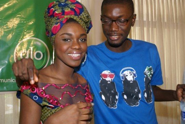 Ameyaw Debrah with Boris Kojoe