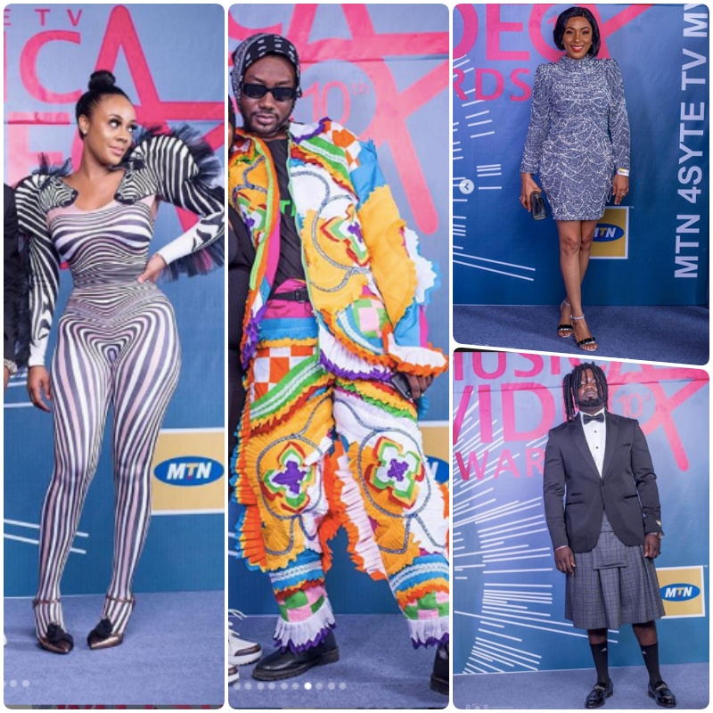 Masquerades, Zebras and more photos from the 2019 4syte TV Music Video Awards