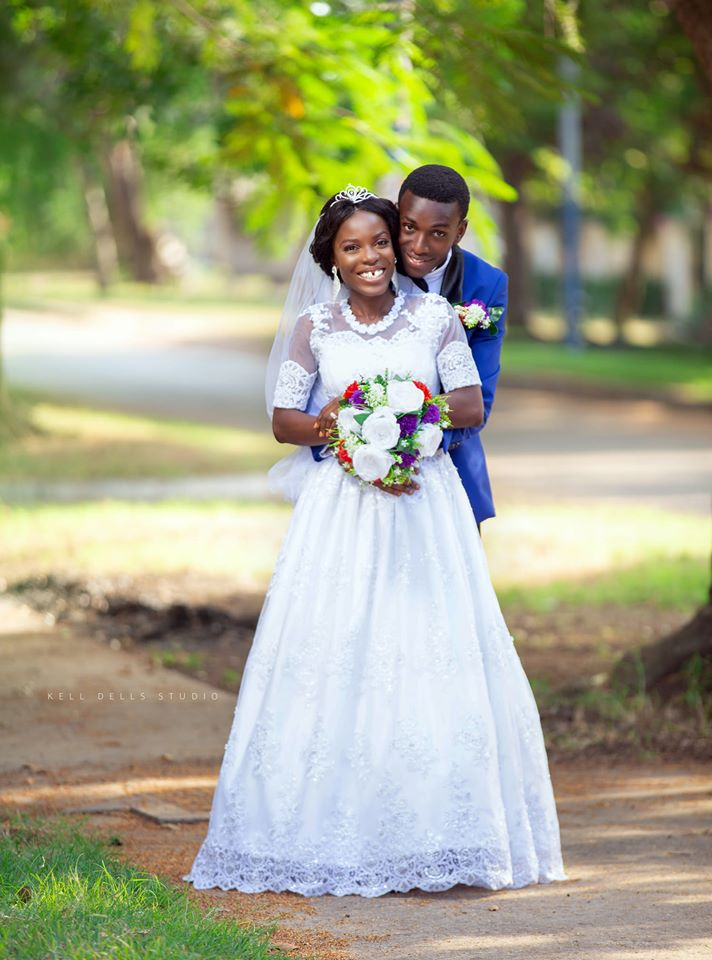 Yaw Siki shares photos from his wedding