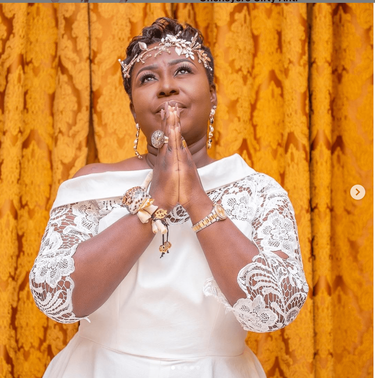 #Pics: Gifty Anti celebrates her golden jubilee with angelic photos