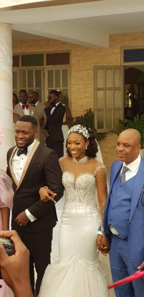Kennedy Osei and Tracy Ameyaw Wedding 5 - See Stunning Photos From Kennedy Osei & Tracy Ameyaw White Wedding