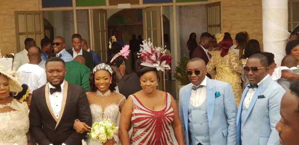 Kennedy Osei and Tracy Ameyaw Wedding 6 - See Stunning Photos From Kennedy Osei & Tracy Ameyaw White Wedding