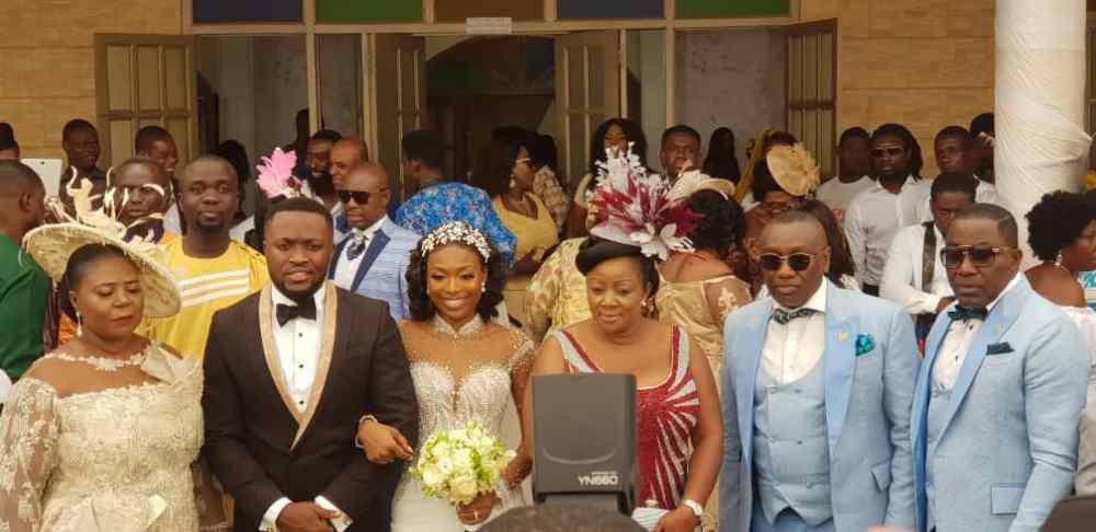 Kennedy Osei and Tracy Ameyaw Wedding 7 - See Stunning Photos From Kennedy Osei & Tracy Ameyaw White Wedding