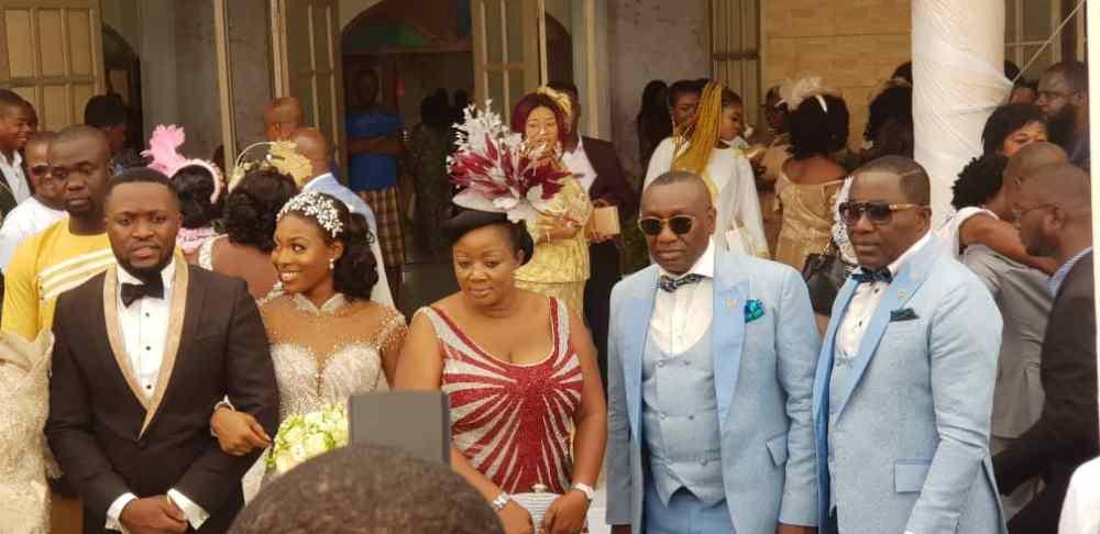 Kennedy Osei and Tracy Ameyaw Wedding 8 - See Stunning Photos From Kennedy Osei & Tracy Ameyaw White Wedding