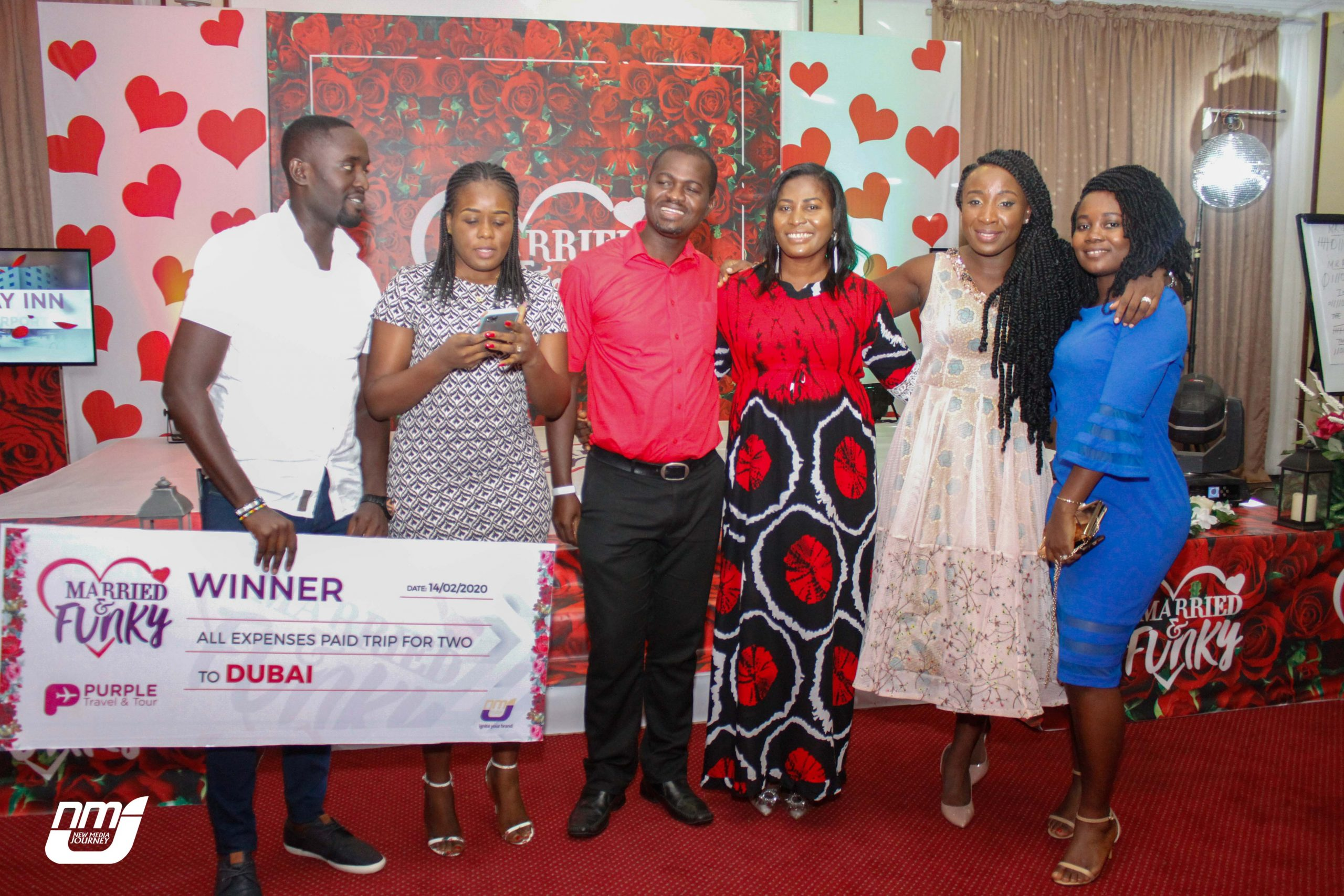 Mr. and Mrs. Amoah win trip to Dubai at maiden 'Married and Funky Dinner'