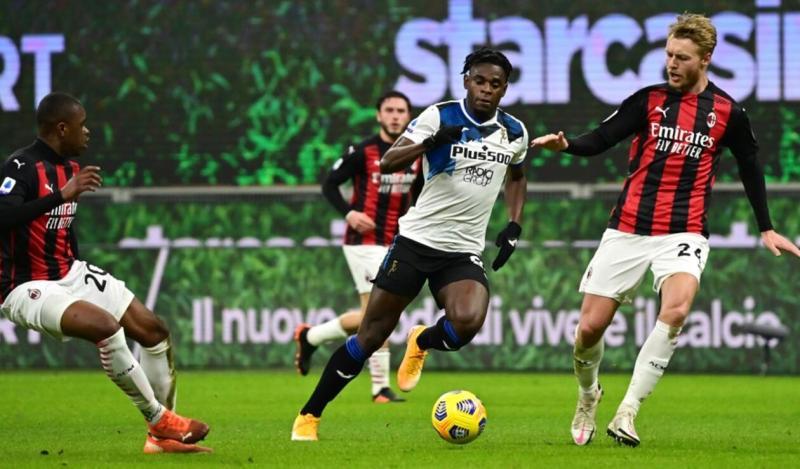 Video] Milan vs Atalanta: resultado final y gol de Duván Zapata   Antena 2