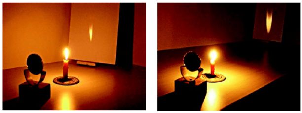 Formation of Real Image by Concave Mirror
