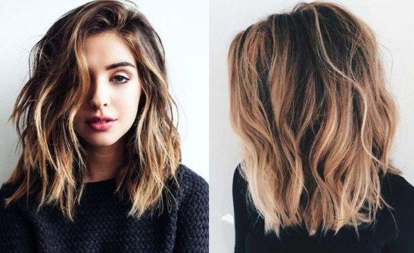 Стрижки и цвет волос тренды2018 Салон красоты и спа