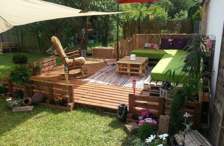 faire une terrasse en palette blog deco