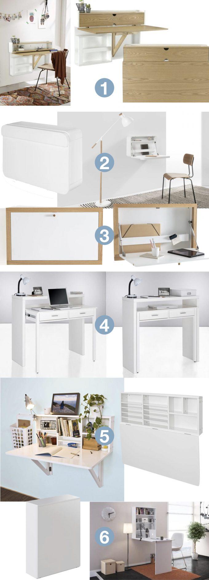 bureau pliable pour petit espace 10