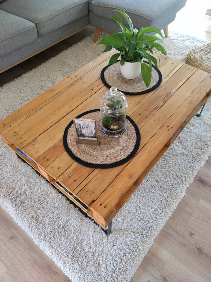 table basse palette diy facile a faire
