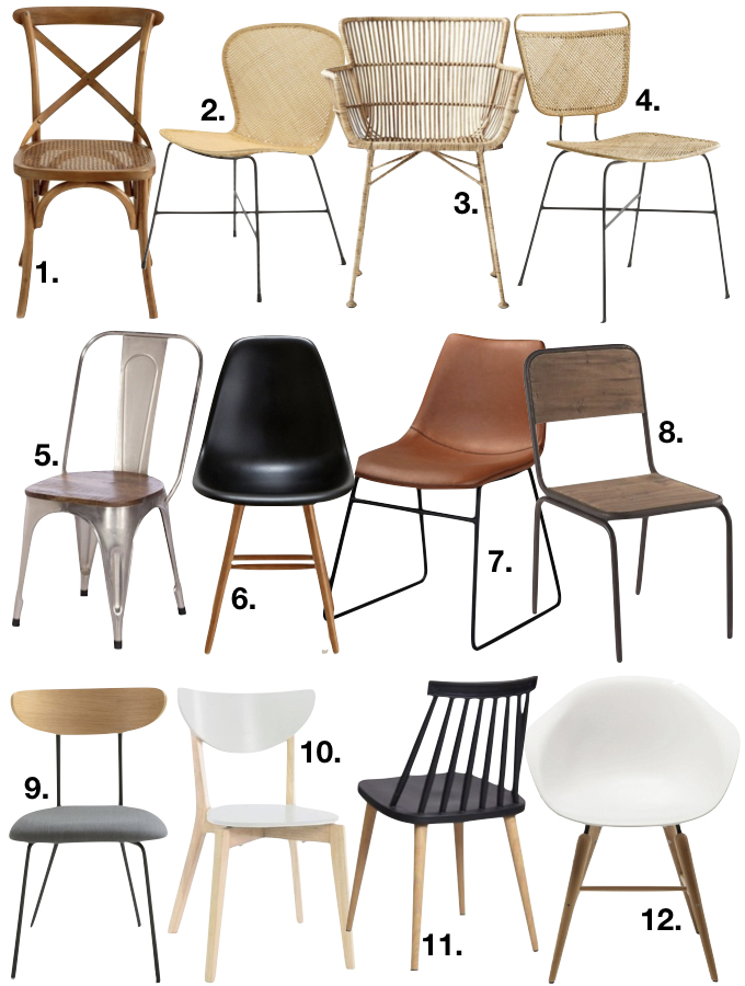 assortir des chaises depareillees 9