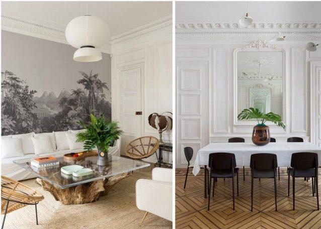 Parisian Haussmannian pied-à-terre decorative visit - Clem Around The Corner