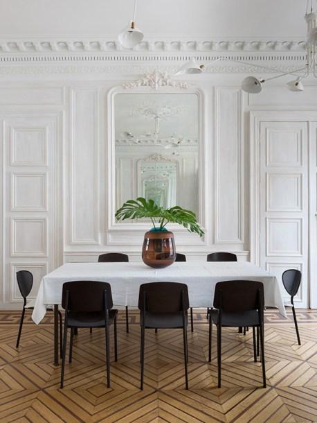 proven jean chair lamp serge mouille stay parisian pied-à-terre - decoration blog - Clem Around The Corner