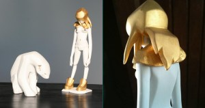 Ajee's Kosplay - K.Olin tribu's Porcelain version, Gold Edition, Tomenosuke exclusive