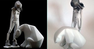 Ajee's Kosplay - K.Olin tribu's Porcelain version, Platine / Platinum Edition