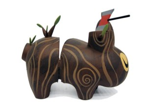 Amanda Visell's Chopped Wood Labbit Custom, 2009