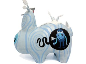 Amanda Visell's Ice Wood Labbit Custom, 2009