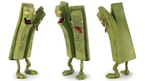 Andrew Bell's Killer Candy: Kill Kat (Green Tea Terror) sculpture, 2013