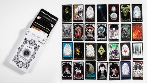 The GWP Tarot Cart set for Arcane Divination: The Lost Cards Dunny Series from Kidrobot