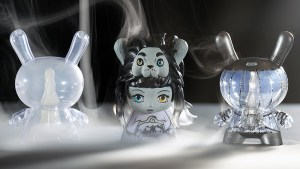 The chase/variant designs for Arcane Divination: The Lost Cards Dunny Series from Kidrobot