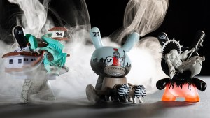 Jon-Paul Kaiser's designs for Arcane Divination: The Lost Cards Dunny Series from Kidrobot