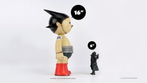 Ashley Wood's Ashtro Lad vinyl figure from 3A