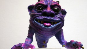 Scarecrowoven's Booooooglin at Clutter Gallery's Boglins Custom Toy Show exhibition