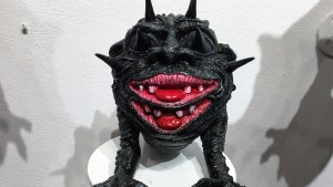 Josh Kimberg's Beelzebog at Clutter Gallery's Boglins Custom Toy Show exhibition