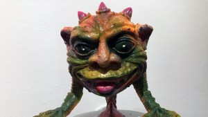 Greg Mishka's GOORBB at Clutter Gallery's Boglins Custom Toy Show exhibition