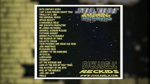 A Brief History of the Sucklord — Star Wars Breakbeats CD, back