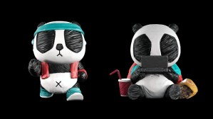 Cacooca's PandaInk series examples