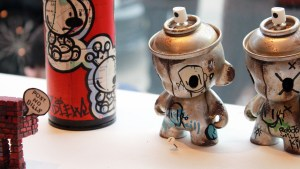 RWK's Cluttered Group Exhibition - ChrisRWK & czee13's Cans Will Kill