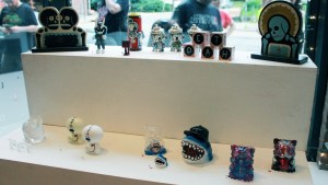RWK's Cluttered Group Exhibition - Window Display