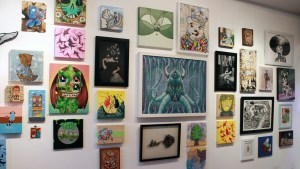 RWK's Cluttered Group Exhibition - Wall Display