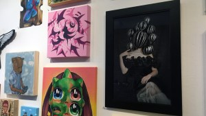 RWK's Cluttered Group Exhibition - Crummy Gummy's Queen Victoria